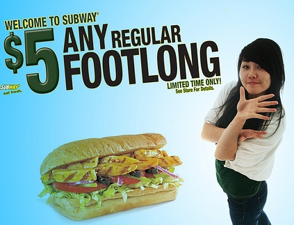 Subway $5 Footlong