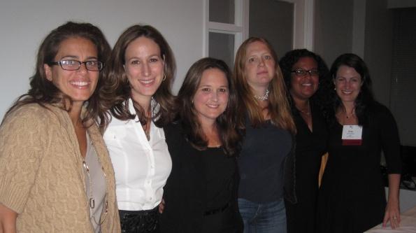 Left to Right: Isabel Kaliman, Liz Gumbinner, Beth Feldman, Anna Fader, Carol Cain, Erin Hanson.