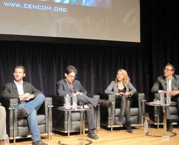 CENCOM 2011 panel Celebrity Wranglers: Getting the Guest that featured Sean Flax from One on 1 with Budd Mishkin, David Goodman from The John Batchelor Show, Rena Popp from The Wendy Williams Show, Todd Polkes from
