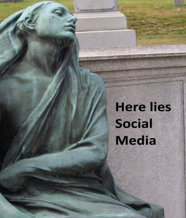 It may be too soon to mourn the death of social media.